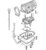 ZF4HP22 4 Speed Automatic Transmission Service Parts